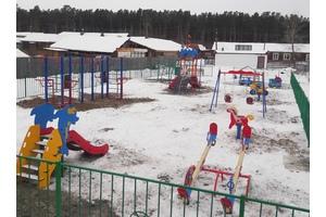 Детская площадка в Юксеево