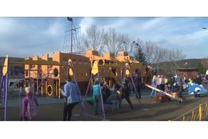 Детская площадка в г. Зеленогорске
