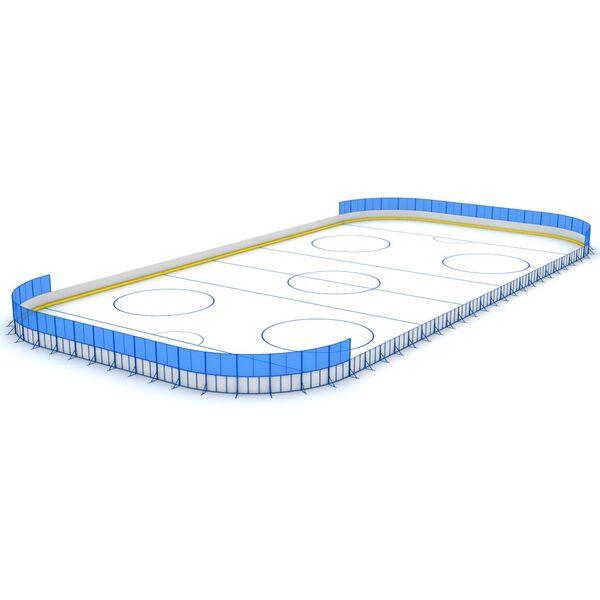Хоккейная коробка (борт из стеклопластика) 30х60